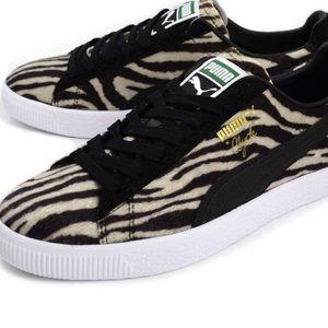 ec8dd2fff3e13f New Puma Clyde animal print sneakers size 9.5